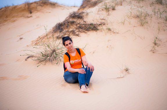 Картинка тур в пустыню Алешковские пески