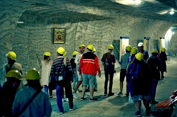 Фото тур в соляные шахты Соледар
