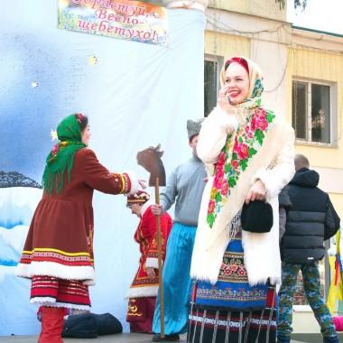 Масленица в Галушковке из Харькова