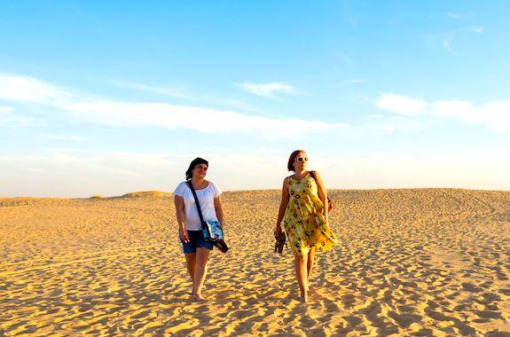 Картинка тур на Алёшковские пески