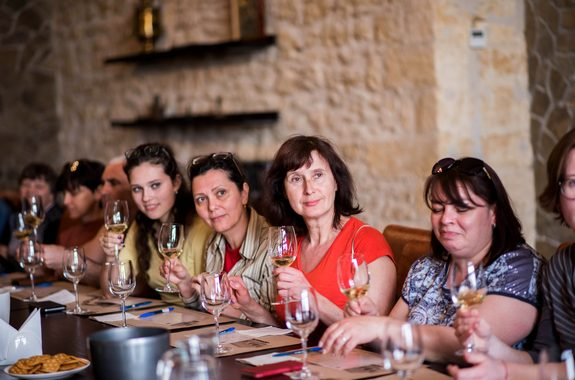 Фото дегустация в винодельческом хозяйстве князя Трубецкого