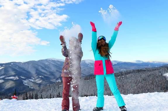 Фото тур катание на лыжах в Буковеле на Новый год