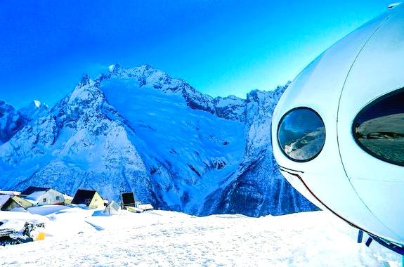 Картинка горнолыжный тур в Домбай