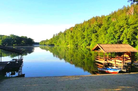 Картинка отдых на реке Северский Донец