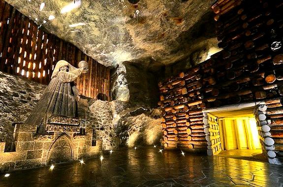 Картинка экскурсия в соляные шахты Величка