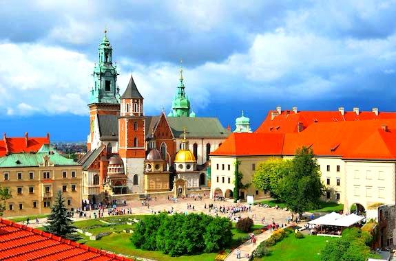 Фото Вавельский замок в Кракове