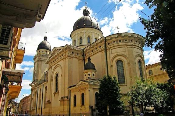 Фото Преображенская церковь Львов