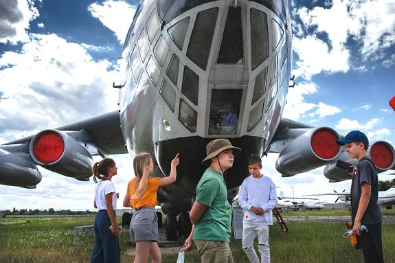 Фото экскурсия в музей авиации
