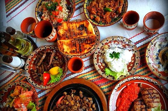 Фото дегустация Болгарских блюд