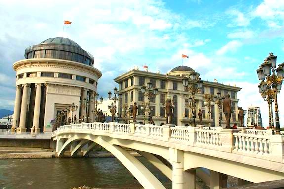 Картинка поездка в Скопье