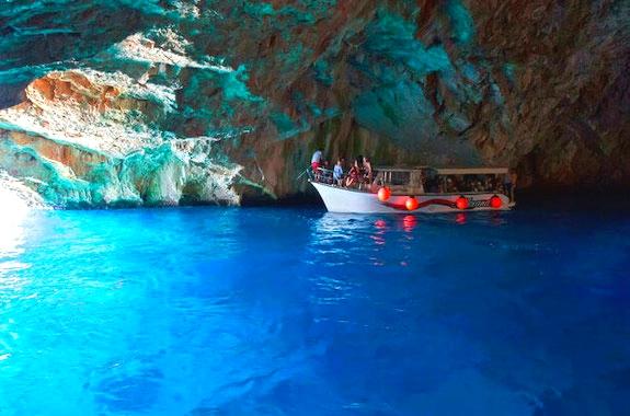 Фото поездка в Голубую пещеру