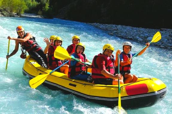 Фото сплав по реке Тара в Черногории