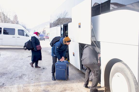 Фото автобус в Буковель из Днепра