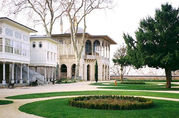 Картинка дворец Топкапы в Стамбуле картинка
