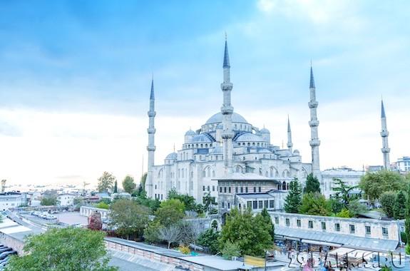 Картинка тур в голубую мечеть