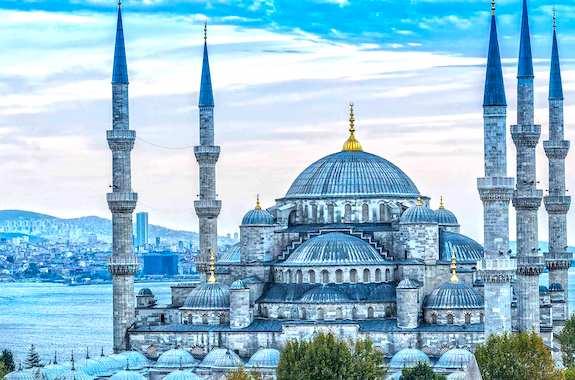 Картинка экскурсия в Голубую мечеть