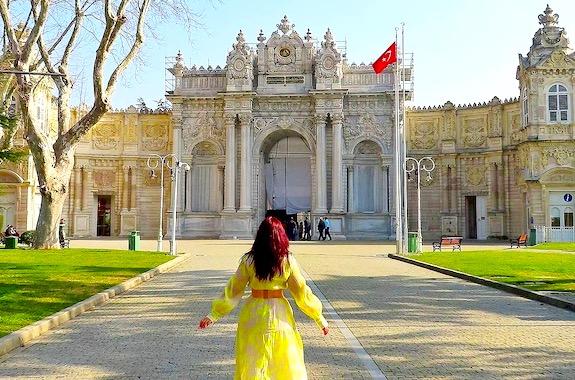 Фото дворец Долмабахче экскурсия