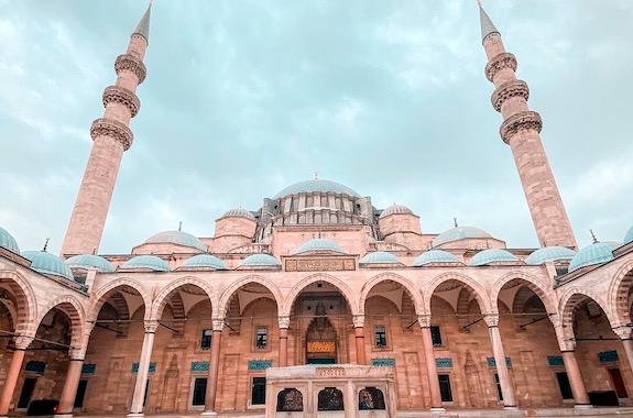 Фото экскурсия в мечеть Сулеймание в Стамбуле