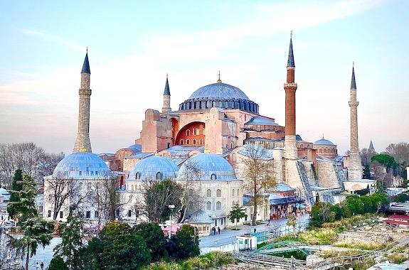 Картинка мечеть Айя Софья экскурсия