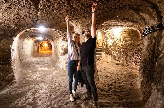Фото экскурсия в подземный город Деринкую