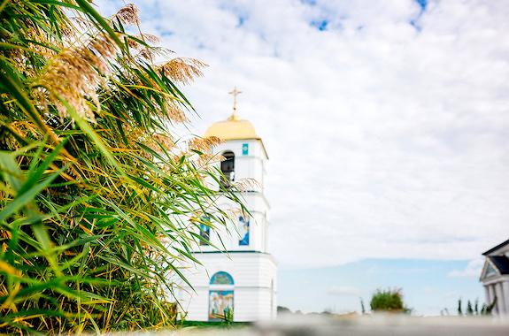 Фото поездки на затопленную церковь в Гусинцах