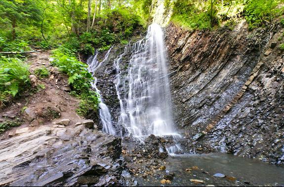 Фото поездка на водопад Гук
