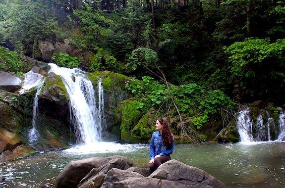 Картинка водопад Каменка