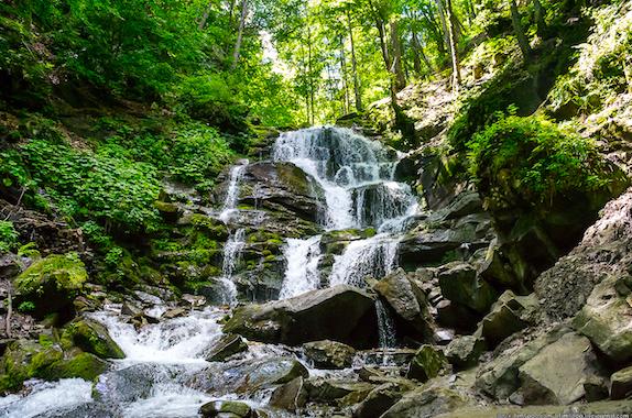 Фото поездка на водопад Шипот