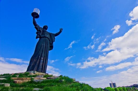 Фото поездка на холм Славы в Черкассах