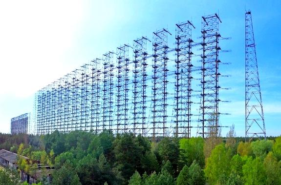"""Фото станция """"Дуга"""" Чернобыль."""