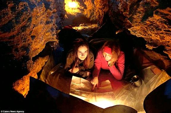 Фото квест в пещере Млынка
