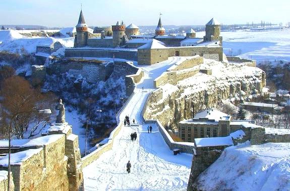 Фото поездка в крепость в Каменец-Подольском
