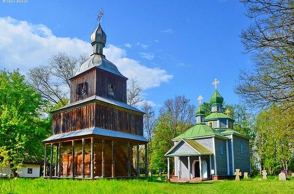 Фото поездка в музей народной архитектуры и быта среднего Приднепровья