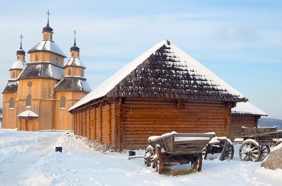 Фото поездка на Запорожскую Сечь