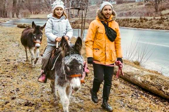 Картинка поездка на ослиную ферму из Киева