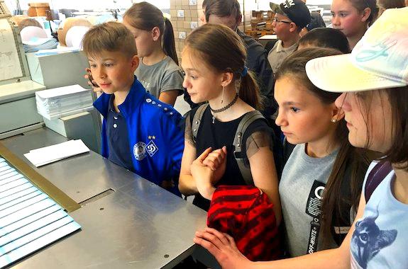 Фото экскурсия для школьников на типографию