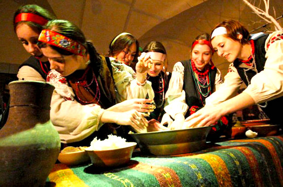 Фото празднование вечорниц