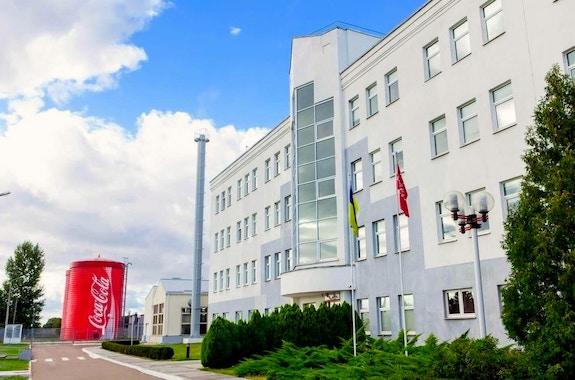 Фото поездка на завод Кока-кола