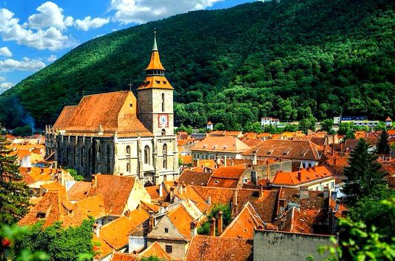 Картинка экскурсия по городу Брашов