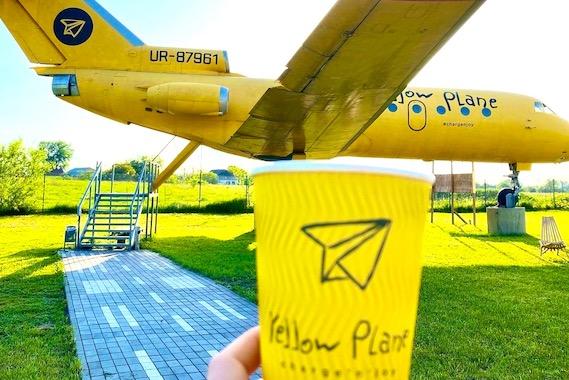 Фото экскурсия в кафе с самолетом