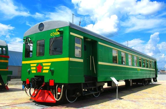 Фото поездка в музей Южной железной дороги