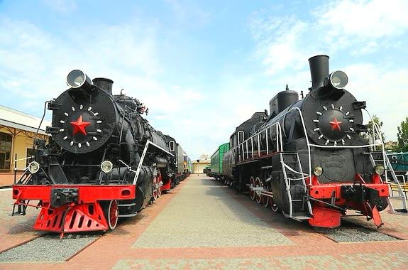 Фото экскурсия в музей ЮЖД в Харькове