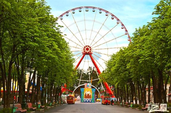 Фото поездка в парк Горького