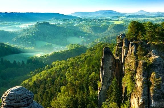 Картинка поездка в Саксонскую Швейцарию