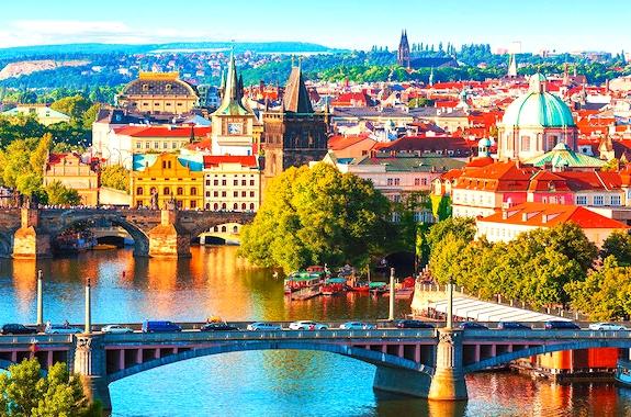 Картинка прогулка по Праге