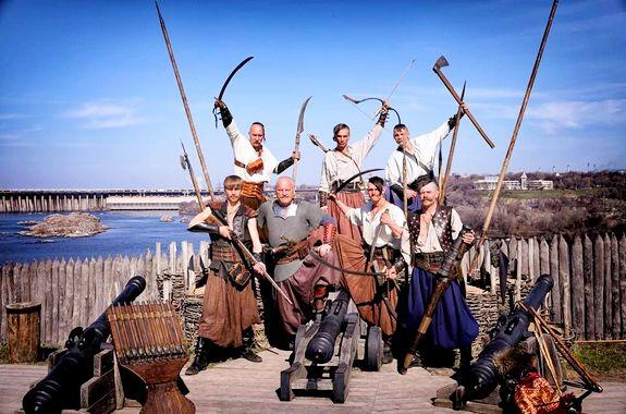 Картинка экскурсия на остров Хортица