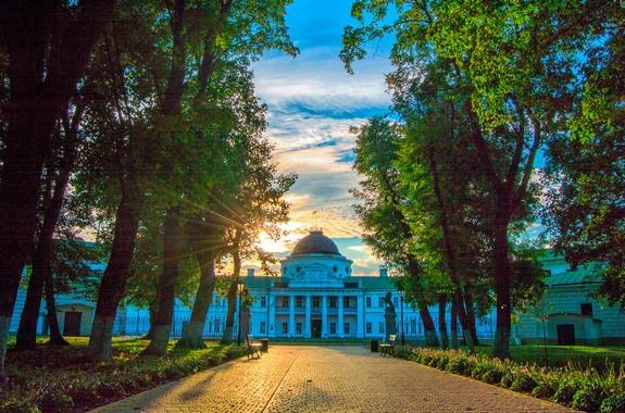 Фото экскурсия на усадьбу в Качановке