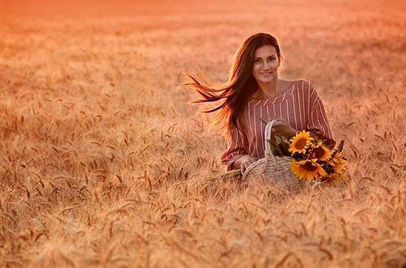 Картинка поездка на поле с пшеницей из днепра