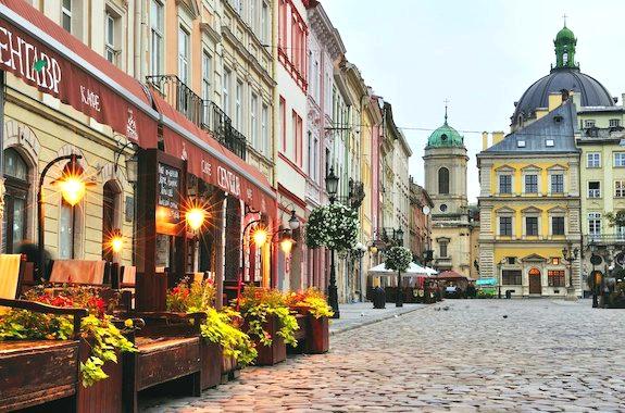 Изображение туры во Львов из Харькова