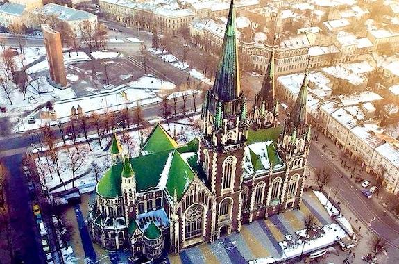 Фото эксурсия по Львову на Новый год